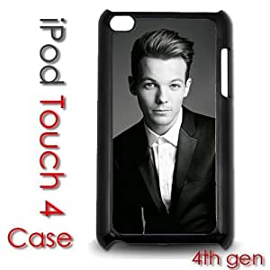 IPod Touch 4 4th gen Touch Plastic Case - Louis Tomlinson 1D pop star band one direction lover