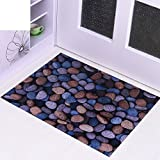 Cobblestone mat/Door mat/ d pad/Bedroom living room doormat-A 60x90cm(24x35inch)