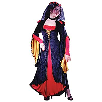 Renaissance Countess Costume (Medium/Large (8-14))
