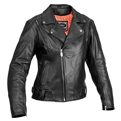 (River Road Women's Sapphire Jacket (X-LARGE) (BLACK))