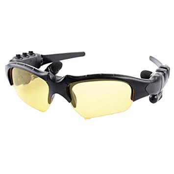Gafas De Vídeo Bluetooth 1080P HD 32 GB Tarjeta SD Grabadora De Cámara Espía Y Gafas