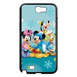 Mickey's Twice Upon a Christmas Samsung Galaxy N2 7100 Cell Phone Case Black JU0980959