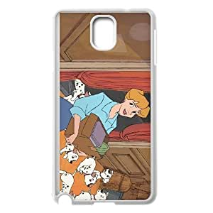 Samsung Galaxy Note 3 Cell Phone Case Covers White 101 Dalmatians Character Anita Radcliffe E0592686