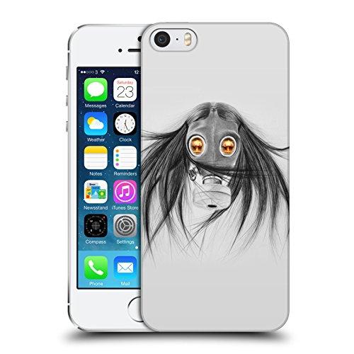 Officiel Graham Bradshaw Gaz Illustrations Étui Coque D'Arrière Rigide Pour Apple iPhone 5 / 5s / SE