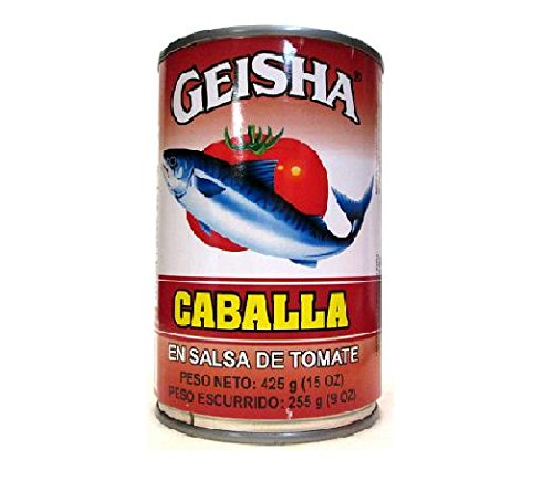Geisha Mackerel Packed in Tomato Sauce (Pack of 3) 15 oz