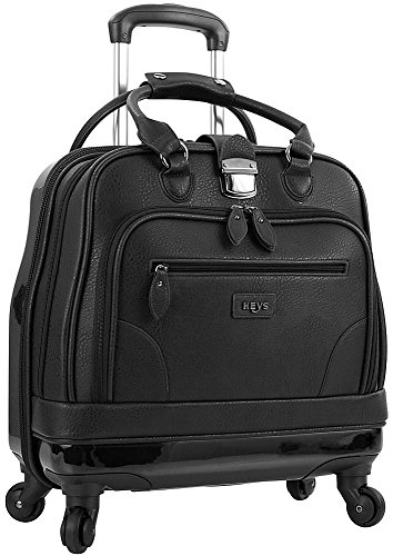 Heys America Nottingham Executive Business Case Rolling Luggage, Black by HEYS AMERICA