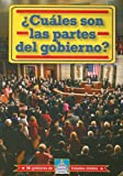 ¿Cuáles son las partes del gobierno? (What Are the Parts of Government?), William David Thomas, 0836888774