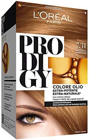 L Oréal Paris, Prodigy - Coloración permanente 7.31 Nocciola ...