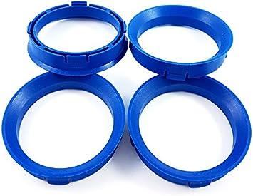 Blau Zentrierringe 4stk 66 6 57 1 66 6 Auf 57 1 Kompatibel Mit Cms Dbv Proline Wheels Keskin Mam Auto