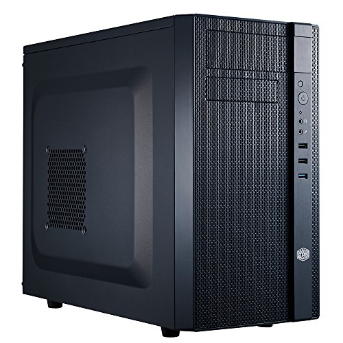 Cooler Master N200 – Mini Tower Computer Case with Fully Meshed Front Panel and mATX/Mini-ITX Support