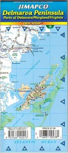 Delmarva Peninsula: Jimapco: 9781569142417: Amazon.com: Books on