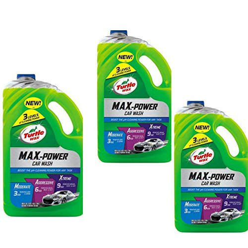 Turtle Wax 50597 Max Power Car Wash - 100 oz. 3 pack