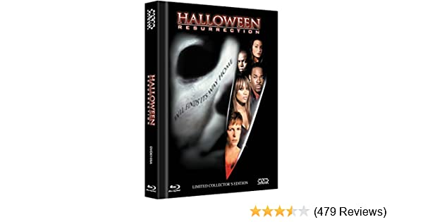 Amazon.com: Halloween: Resurrection - Uncut [Blu-ray + DVD] limitiertes Mediabook Cover A [Limited Collectors Edition] [Limited Edition] [Import allemand]: ...