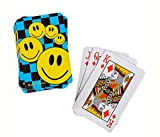 Puzzled Mozlly Mini Smile Face Playing Cards 12 Decks Sport Gaming Set - Sports Theme - Set of 12 - Item #102002