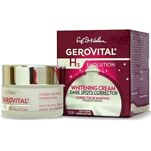 GEROVITAL H3 EVOLUTION, Whitening Cream Dark Spots Corrector With...
