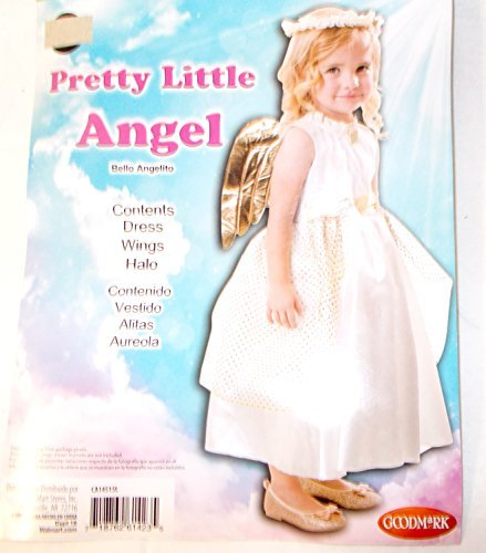 Pretty Little Angel Child Toddler Costume 2T NIP by K-mart -