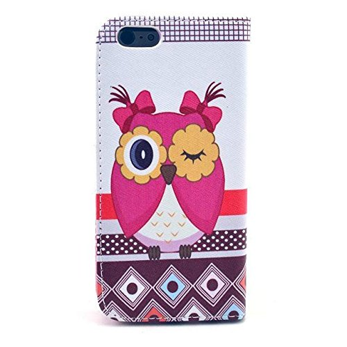 Monkey Cases® iPhone 6 Plus 5,5 Zoll - Flip Case - EULEN - cover - Matt - Premium - original - neu - Tasche #4