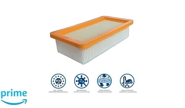 6.414-971.0 K/ärcher Filtro plano de papel plegado Nano WD