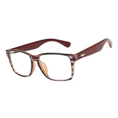 Hzjundasi Cru Bois Myopie Lunettes Anti-radiation Petite vue Myope Des  lunettes -1.0~ 85d72d4232b7