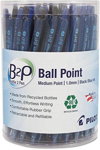 PIL57050 - Pilot B2P Bottle-2-Pen Recycled Retractable Ball Point ()