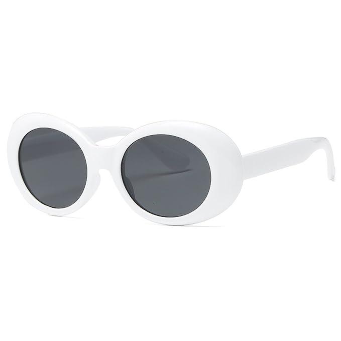 Kimorn Clout Goggles Occhiali Da Sole Per Donna Ovali Telaio Cerniere In Metallo Bicchieri K0567 (Rosso&Nero) nyiXqbi