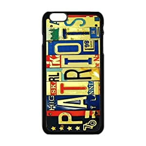 "Danny Store Hardshell Cell Phone Cover Case for New iPhone 6 Plus (5.5""), License Plate"
