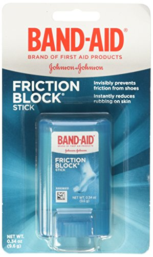 Band Aid Brand Friction Block Stick .34oz,  Boxes (Pack of 3) by Band-Aid