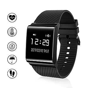 I5 plus IP67 Pulsera inteligente hermética, Bluetooth 4.0, controlador de actividad, para deportes, salud, de pulsera Monitor de Sueño, indicador de ...