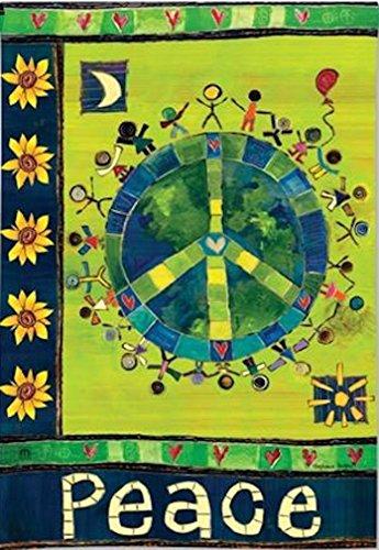 BreezeArt Enter In Peace Garden Flag #31119