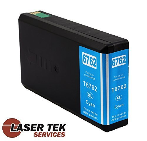 Laser Tek Services® Compatible Ink Cartridge Replacement for the Epson T676XL220. (Cyan, 1-Pack)