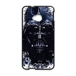 Personality customization TPU Case with Star Wars HTC One M7 Cell Phone Case Black