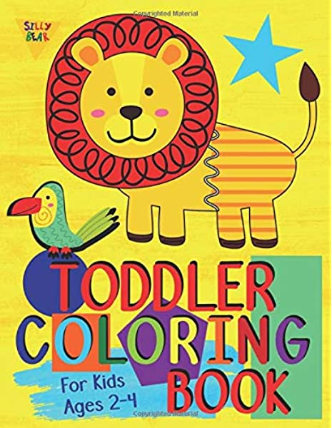 - Amazon.com: Toddler Coloring Book For Kids Ages 2-4: Preschool Or Pre-K  Learning And Educational Activities. Letters (Alphabet Or ABC) Numbers  Counting Shapes And Supplies. (Silly Bear Coloring Books)  (9781916293694): Bear, Silly: