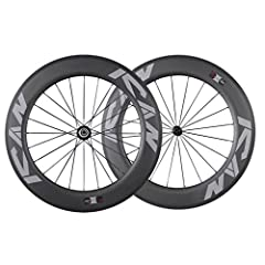 ICAN 86mm Aero Carbon Road Bike & Triathlon Wheelset Recommended for road bikes, triathlon bikes, time trial bikes riders that want the most aerodynamic wheels available for long road bike rides and triathlons. ICAN 86 is a no compromise ...