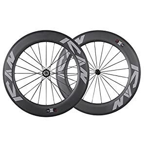 Ican 86mm Carbon Time Trial Wheelset Triathlon Aero