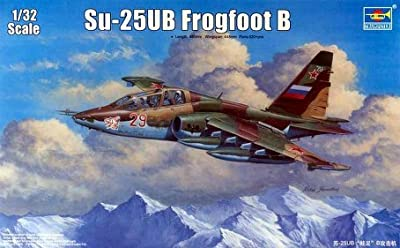 Trumpeter 1/32 Su25UB Frogfoot B Russian Trainer Aircraft Model Kit