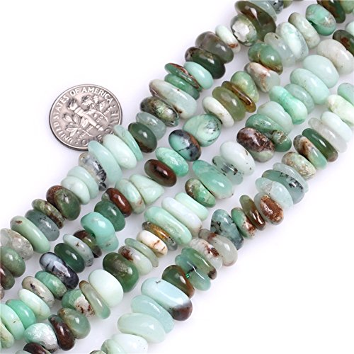 Australian Jade Beads for Jewelry Making Natural Gemstone Semi Precious 10x12mm Rondelle Heishi Spacer 15