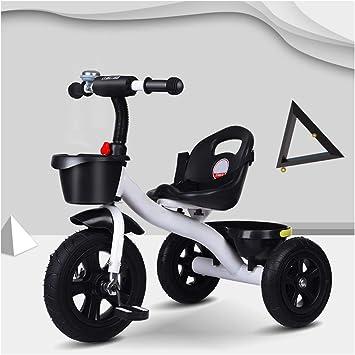 Hejok Bicicleta Triciclo para NiñOs PequeñOs, Triciclo En Triciclo De 3 Ruedas Triciclo Triciclo Edad 1-3-6 Bicicleta Inteligente Nuevo DiseñO para NiñOs Triciclo NiñOs, Section C: Amazon.es: Deportes y aire libre