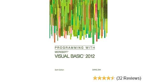 Programming with Microsoft Visual Basic 2012: 9781285077925