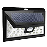 Kehome 34 Leds Solar Light Outdoor With Motion Sensor, Front Mode Selector, Wide Angle, Waterproof Solar Light And Wireless Security Lights For Wall Driveway Walkway Porch, Patio Yard Garden