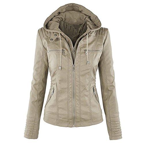Leather Motorcyle Jacket - 1