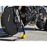 MOTO-D Polar Fleece Motorycle Tire Wraps Windstop