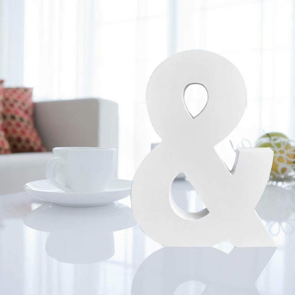 Totoo Decorative Wood Letters Hanging Wall 26 Letters Wooden Alphabet Wall Letter for Children Baby Name Girls Bedroom Wedding Brithday Party Home Decor-Letters C