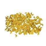 15mm Shine Romance Butterfly Confetti Birthday Wedding Party Decoration 2 Colors - Gold
