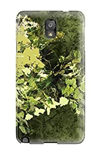 LylVHDZ6319Hvodv Leaves Abstract Fashion Tpu Case Cover For Iphone 5/5S Case Cover