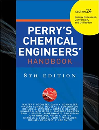 Ebook Perrys Chemical Engineers Handbook