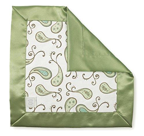 SwaddleDesigns Lovie Security Blanket Paisley