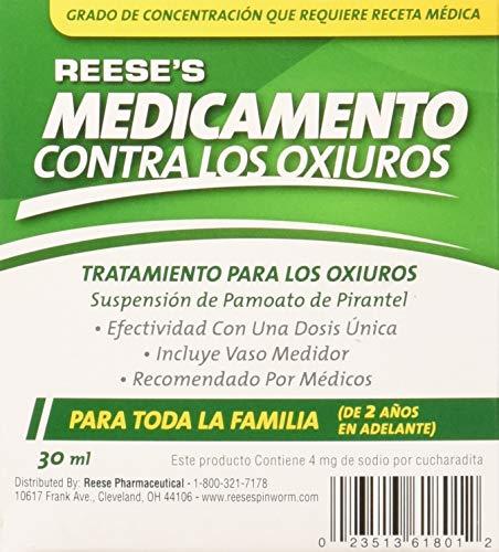 Reeses Pinworm Medicine Full Prescription Strength Liquid