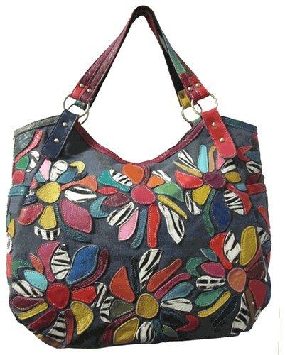 (Amerileather Amelia Leather Tote Bag (#1755-8))