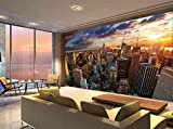 New York City Building Skyline Manhattan Photo Wallpaper Mural Bedroom Deco