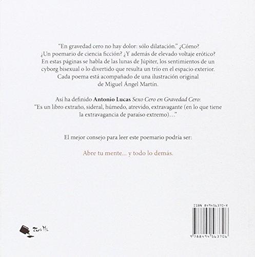 Sexo cero en gravedad cero: Antonio Dyaz: 9788494563706 ...